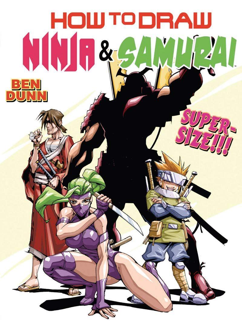 Neoverso Descarga Como Dibujar Ninjas Y Samurais Como Dibujar Ninja Libro De Dibujo
