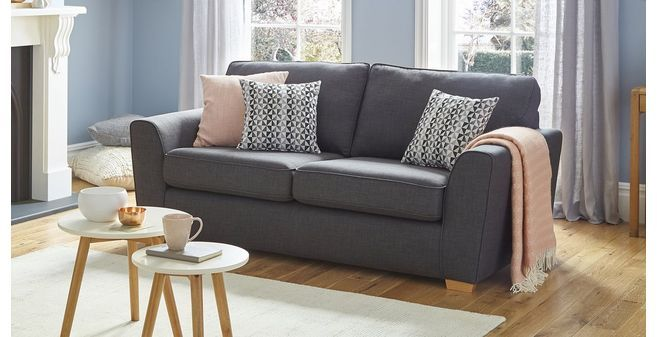 Vision 3 seater sofa with removable arm revive dfs