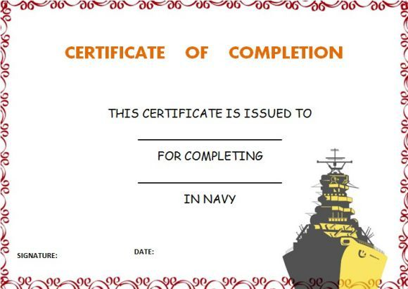 Navycertificateofcompletiontemplate certificate of completion navycertificateofcompletiontemplate navycertificateofcompletiontemplate certificates of completion templates yadclub Images