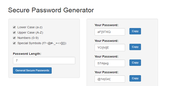 Validating strong passwords awk