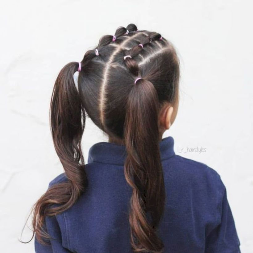 48 Impressive Sweet Girls Hairstyles Ideas Matchedz Braided Hairstyles Easy Hair Styles Kids Hairstyles