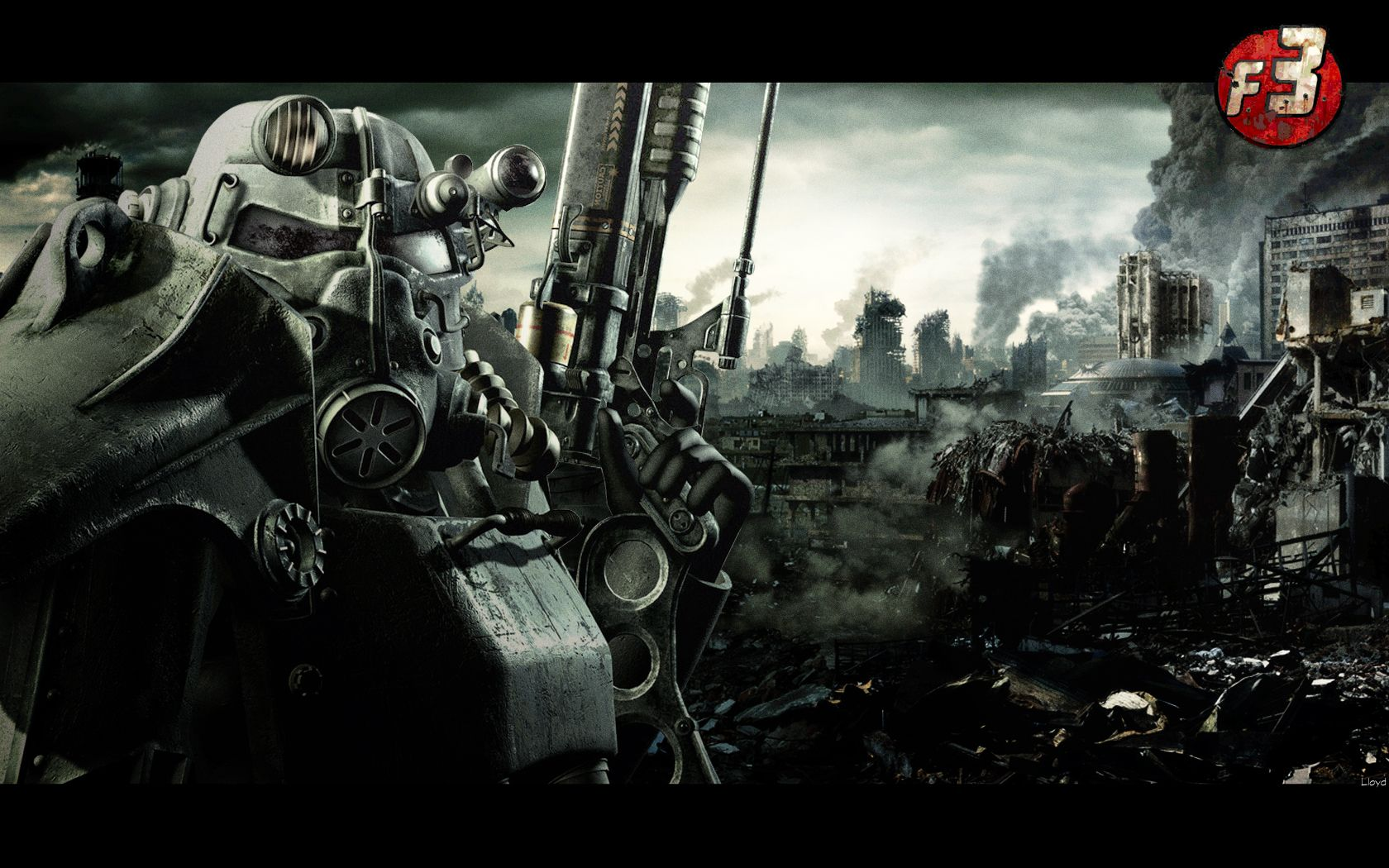 Fallout 3 Wallpaper By Igotgame1075 On Deviantart Fallout 3 Wallpaper Fallout 3 Fallout Wallpaper