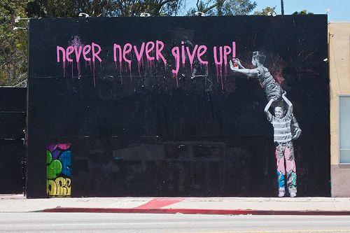 encouraging graff.