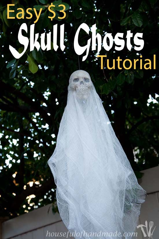 74 Best DIY Outdoor Halloween Decorations Complete List RV