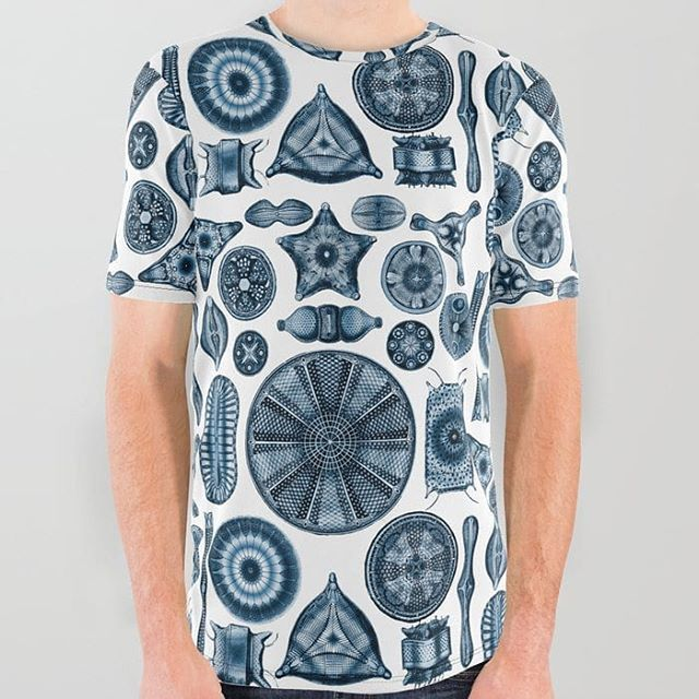 I've sold a few all over print tees on @society6 recently. The latest