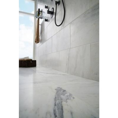 Ms International Greecian White 8 In X 12 In Polished Marble Floor
