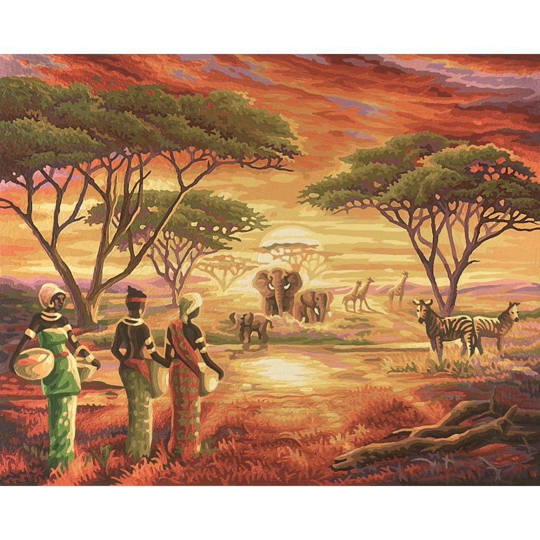 Afrika Malerisches Afrika Schipper Malen Nach Zahlen 27 99