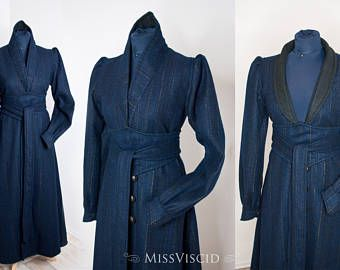 mage robe coat larp costume coat raiment robe coat wizard