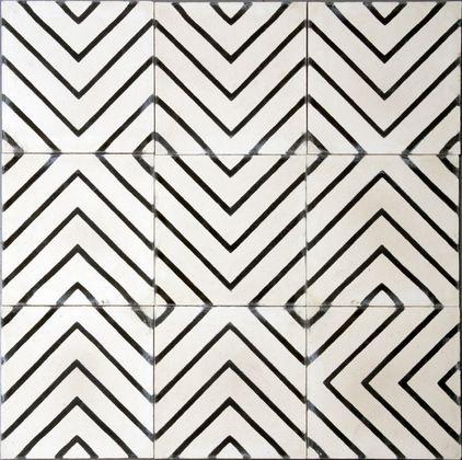 contemporary floor tiles by Marrakech Design Tiled it - fliesenmuster für badezimmer