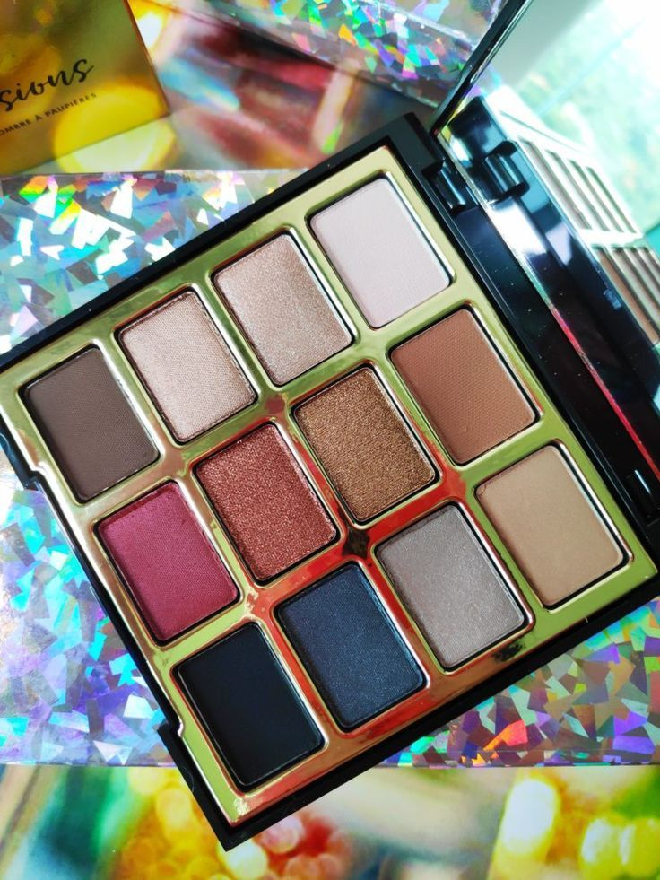 Milani Bold Obsessions Eyeshadow Palette Review