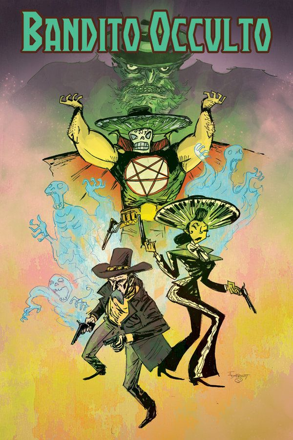 Bandito Occulto Poster By Boatwright On Deviantart Character Design Poster Art