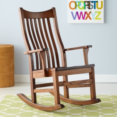 Rocking Chair Looks Like It Curves With Your Back Which Is What He Wants Wooden Rocking Chairs Rocking Chair Wooden Rocker Wooden rocking chairs for sale