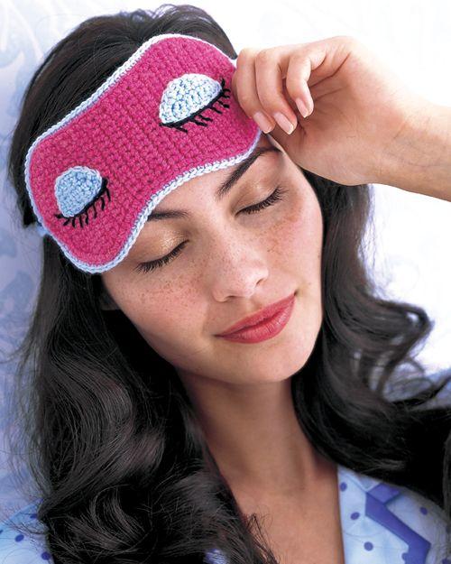 Goodnight Mask Crochet Todayee Pattern Craft Knit