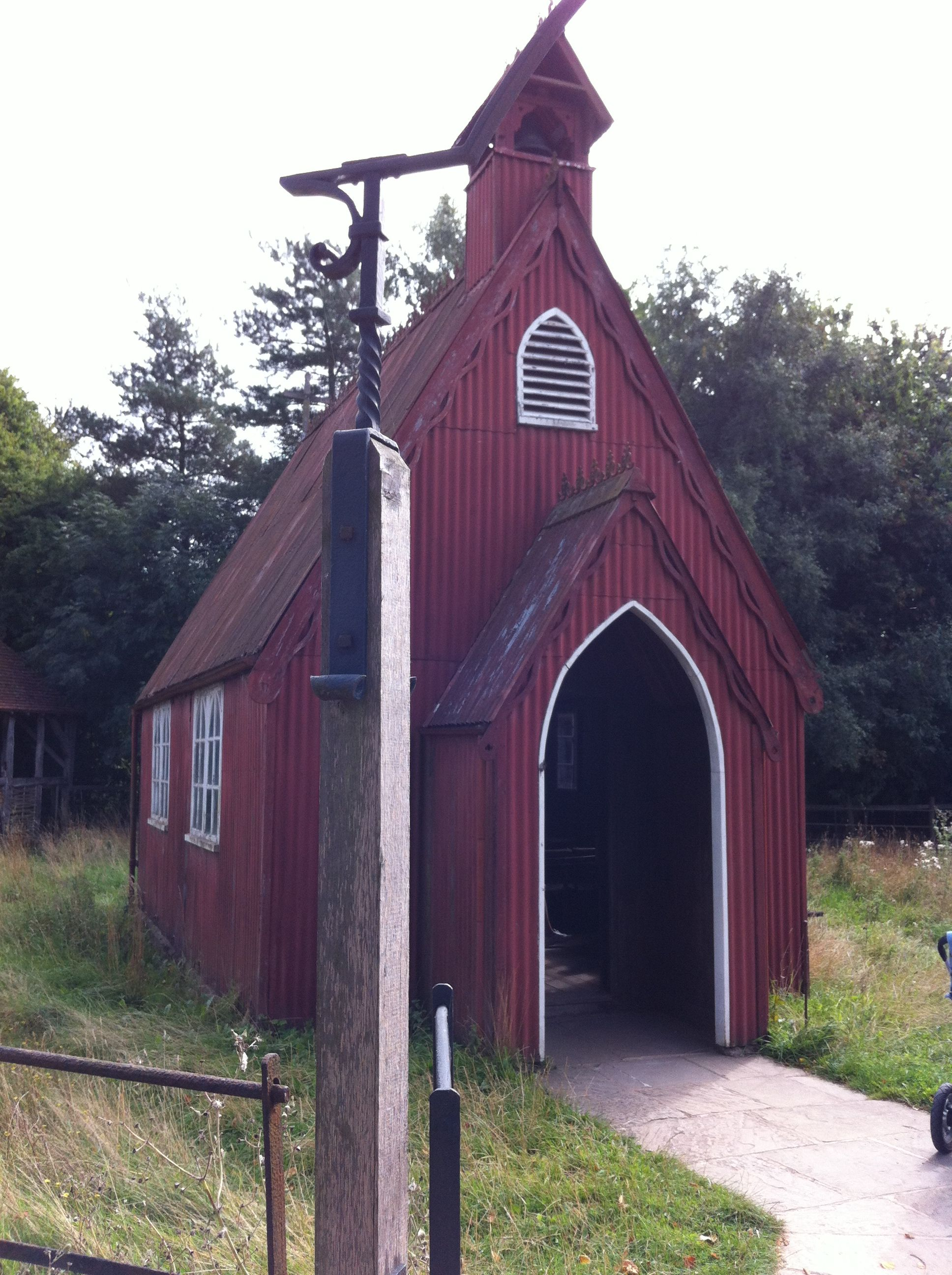 tin chapel at chiltern open air museum chalfont