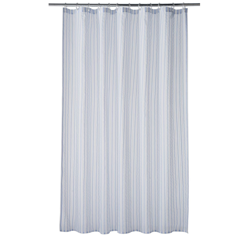 Home Classics Montauk Stripe Woven Shower Curtain Shower