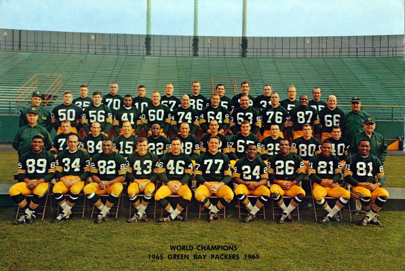 Packerville U S A Your 1965 Green Bay Packers Green Bay Packers Fans Green Bay Packers Green Bay Packers Vintage