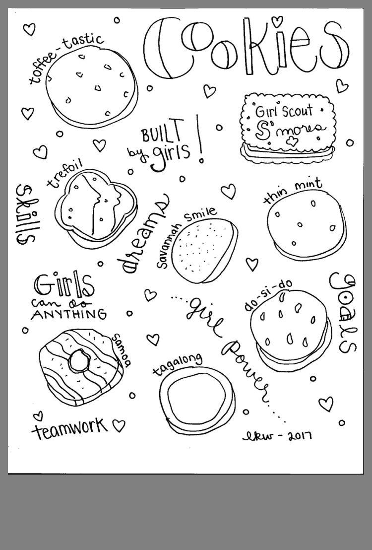 pinsarah maar on girl scouts  girl scout cookies