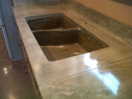 Amazing Image Result For Stained Concrete Countertops