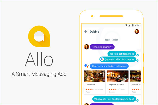 Allo Meet the New Instant Messaging App from Google