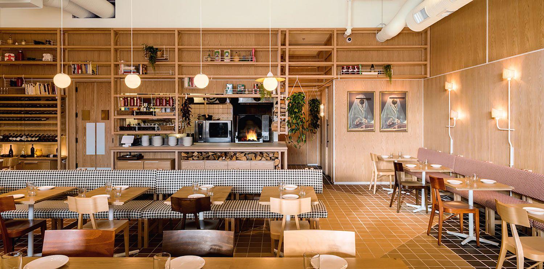 Osteria Savio Volpe By Ste Marie Design Restaurant Interior Bar