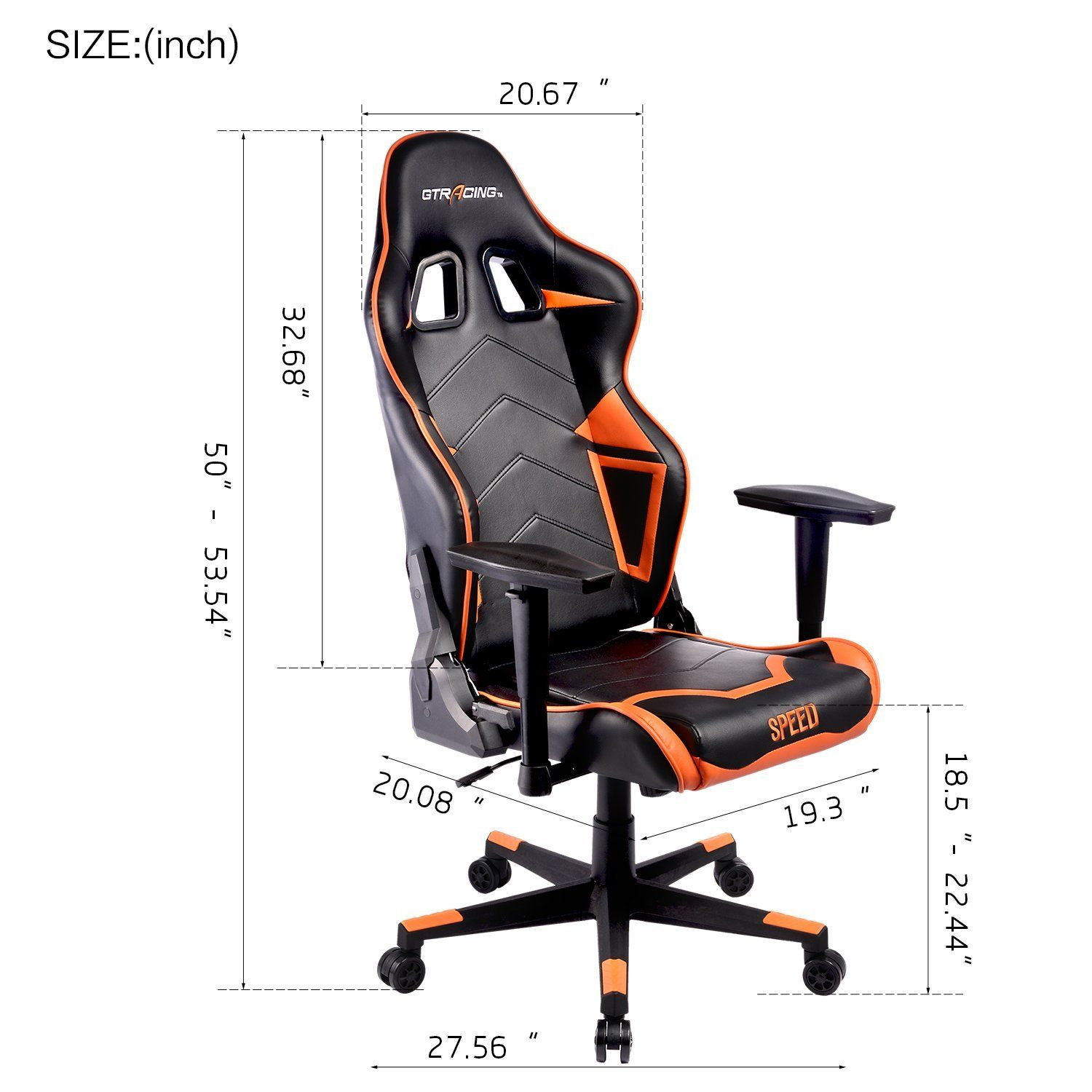 Groovy Gtracing Ergonomic Gaming Chair Reclining Gaming Chair Andrewgaddart Wooden Chair Designs For Living Room Andrewgaddartcom