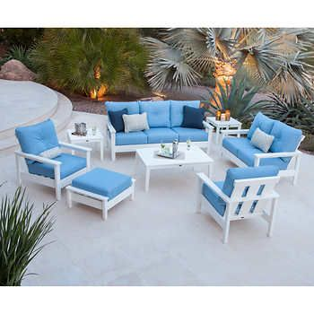 Patio Furniture Collection Deep Seating, Prescott Collection Patio Furniture