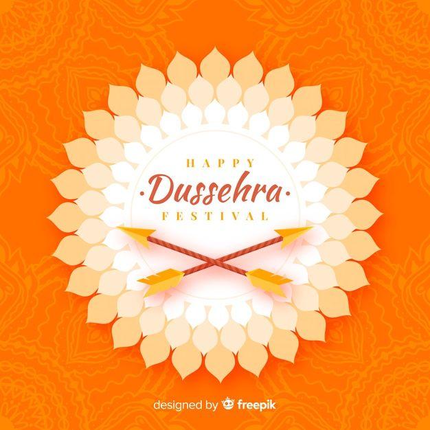Download Flat Design Happy Dussehra Concept for fr