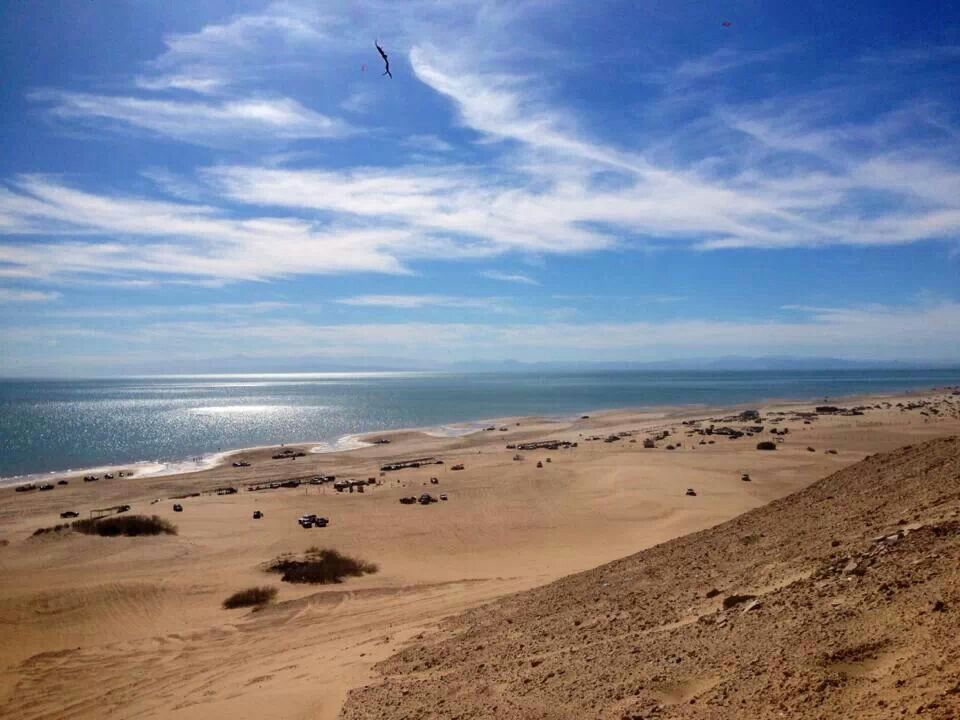 El Golfo De Santa Clara Is Where Chris Got Help From Mexican Duck Hunting Guides And They Towed Him To The Ocean