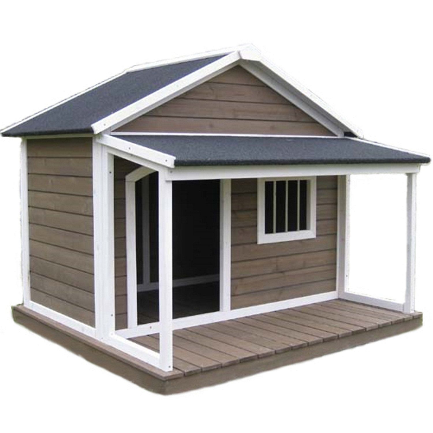 Houses & Paws House Town Pet House, Large Dog house