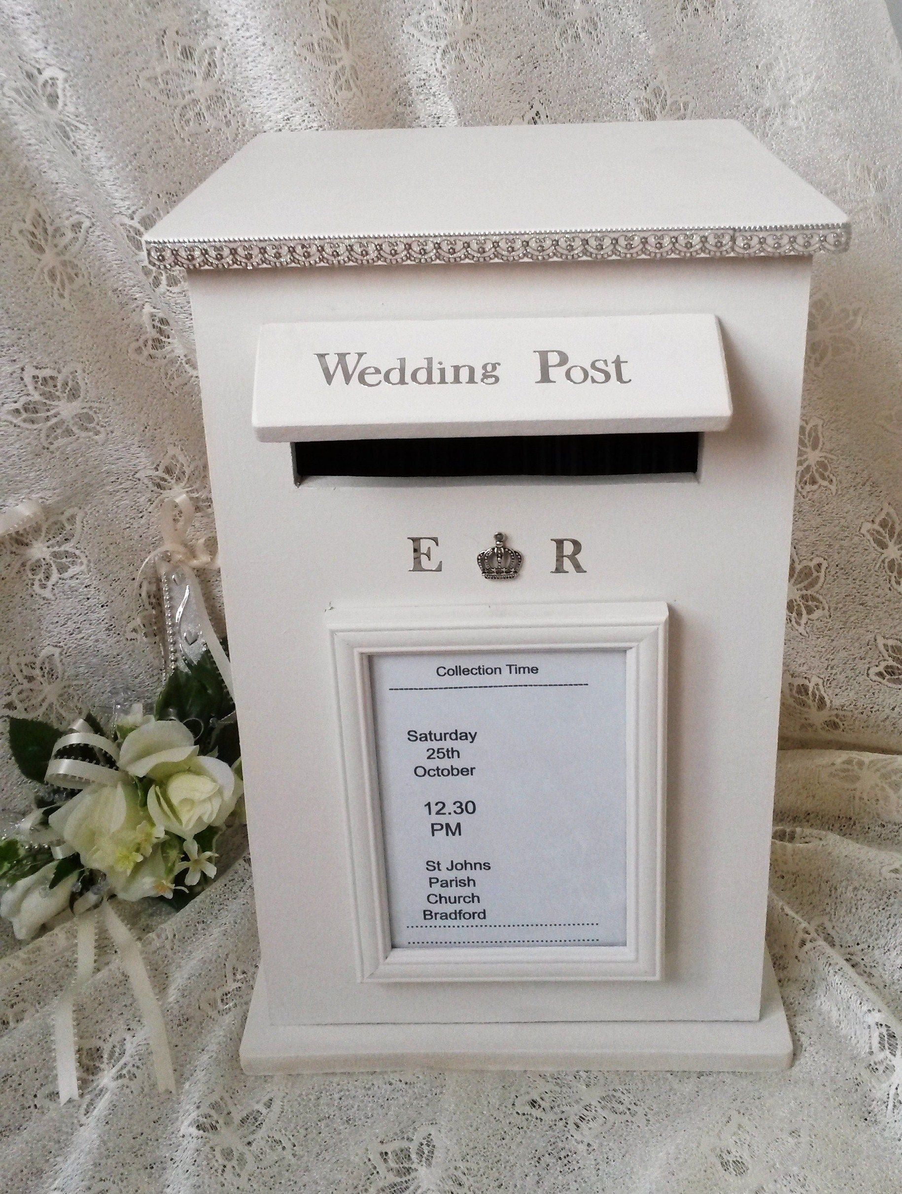 Decided To Try Making Wooden Wedding Postbo N This Is The Result My Mailboxwedding Post Boxwedding Cardswinter Ideaswinter