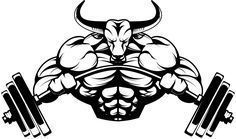 Resultado de imagen para bodybuilding logos graphic design