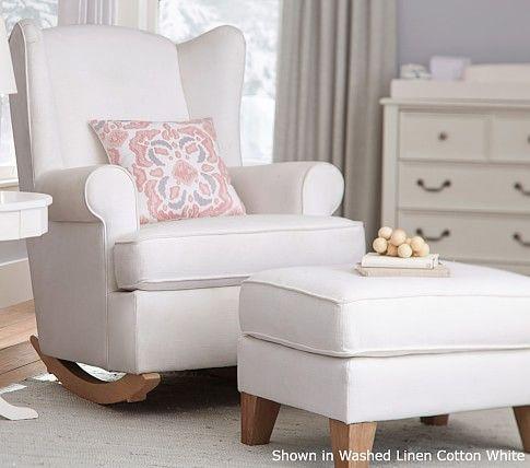 Astonishing Wingback Convertible Rocker Ottoman We Crafted This Plush Inzonedesignstudio Interior Chair Design Inzonedesignstudiocom