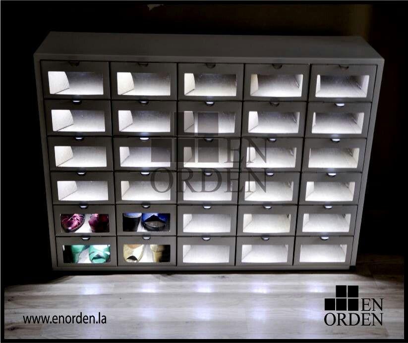 Enorden organizadores de zapato espacios pinterest for Mueble guarda zapatos