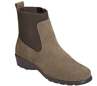 Aerosoles Leather or Suede Ankle Boots -Madison