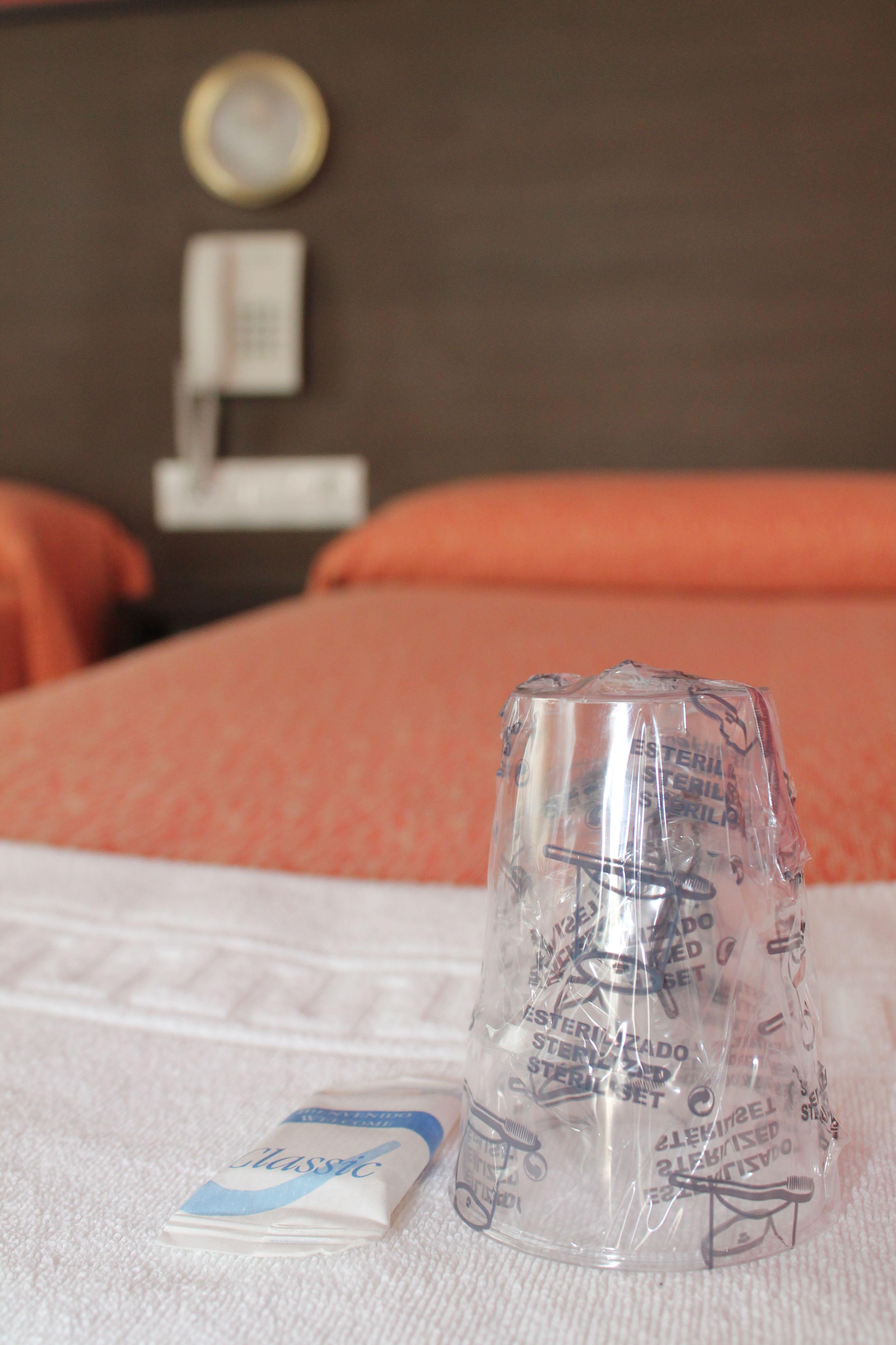 Detalle de las habitaciones cuádruples del albergue.