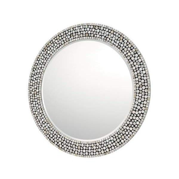 """Capital Lighting 717201MM Mirrors 35.5"""" Diameter Flat Circular Mirror ($390) ❤ liked on Polyvore featuring home, home decor, mirrors, lighting, round mirror, outside mirrors, outdoor mirror, outside home decor and capital lighting"""