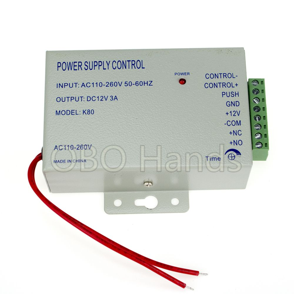 Access Control Power Supply Power Switch Dc 12v 3a Power Supply 3a Ac 110 260v For All Types Acce Access Control Access Control System Control System