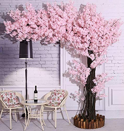 New Vicwin One Artificial Cherry Blossom Trees Light Pink Cherry Blossom Tree Arch Cherry Blossom Decor Artificial Cherry Blossom Tree Pink Cherry Blossom Tree