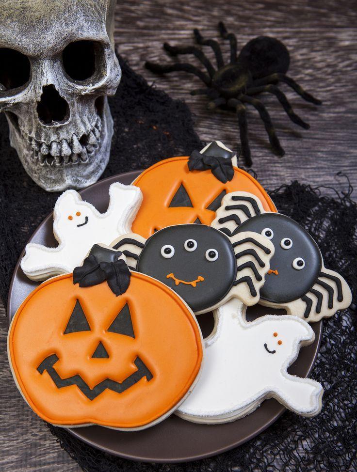 Spooky Cookie Halloween Cookie Decorations Ghost pumpkin, Cookie - halloween pumpkin cookies decorating