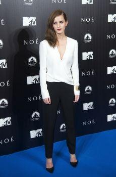 Emma Watson- Noah premiere in Madrid.