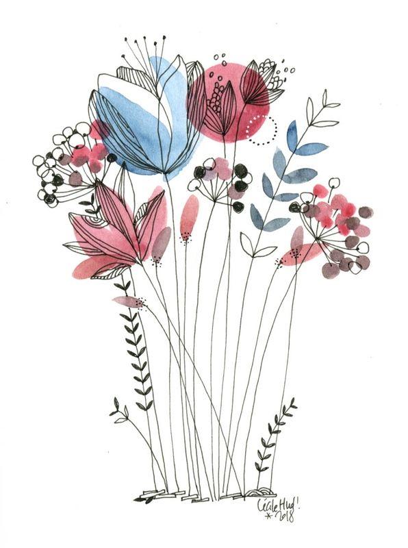 un bouquet - les chosettes