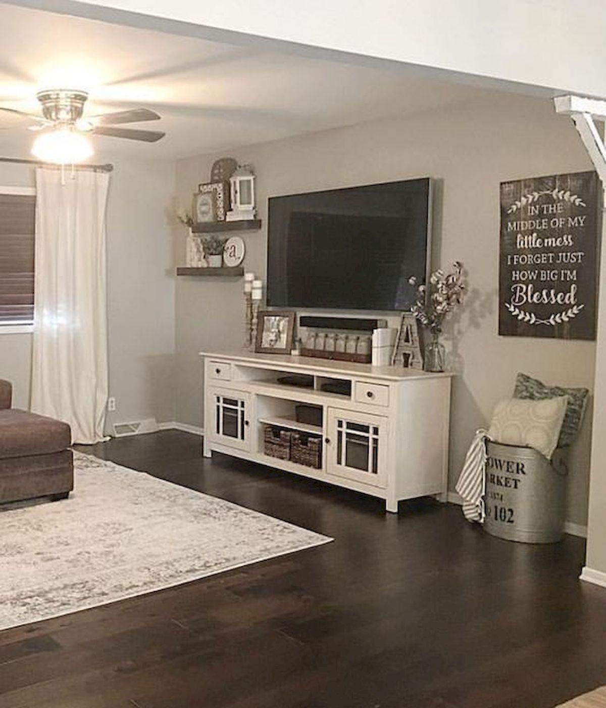 60 beautiful farmhouse tv stand design ideas and decor ideas home rh pinterest com