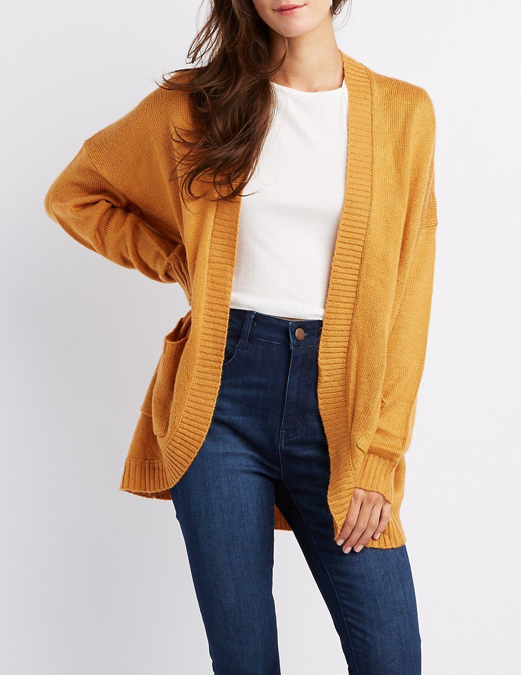 Open Front Boyfriend Cardigan Boyfriends And Olive Basic Cardy Add Some Texture Style To Your Look With This Soft Knit The