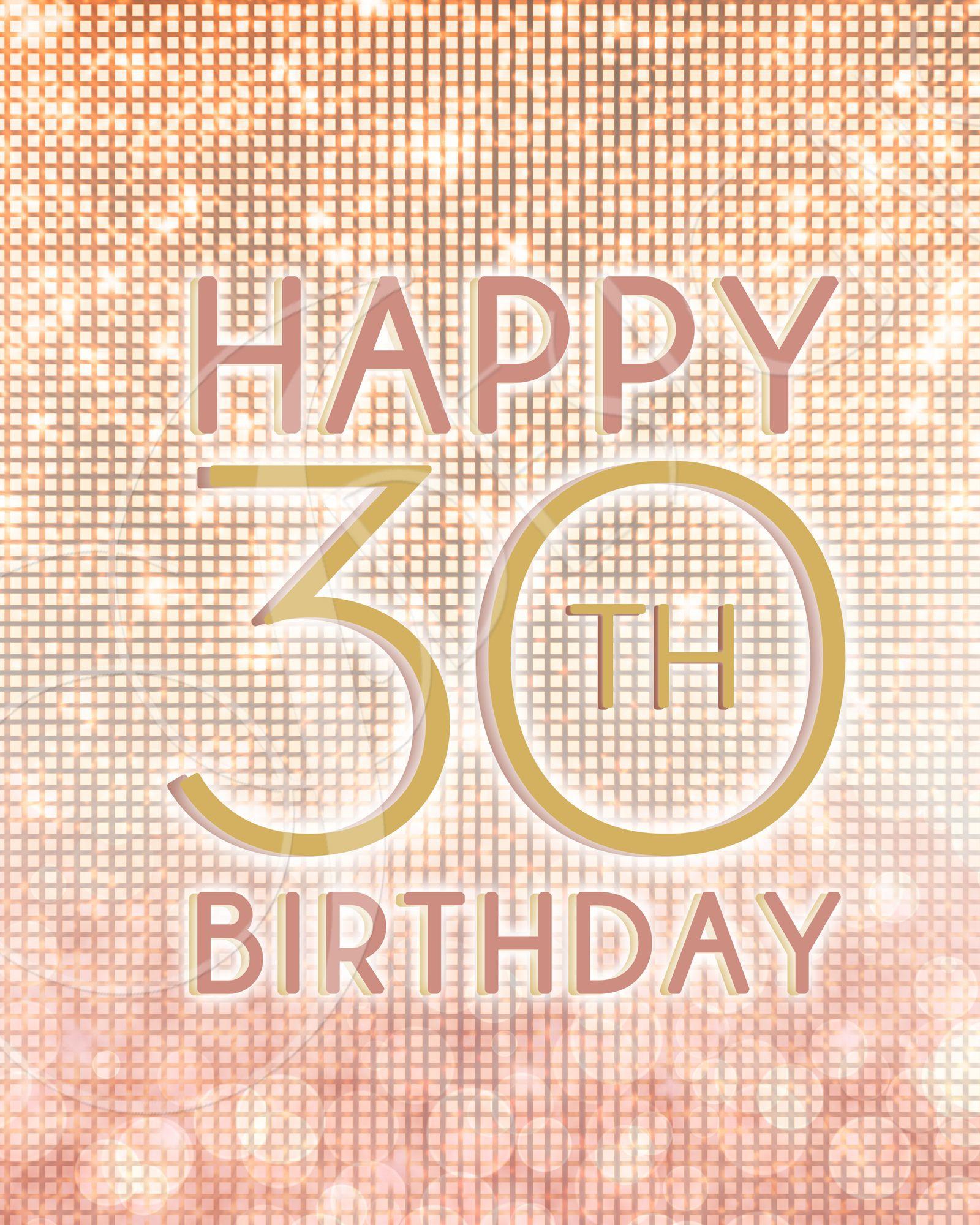 30th Birthday Signs