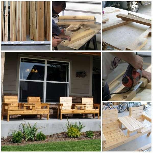 15 Façons de fabriquer des bancs originaux (avec images