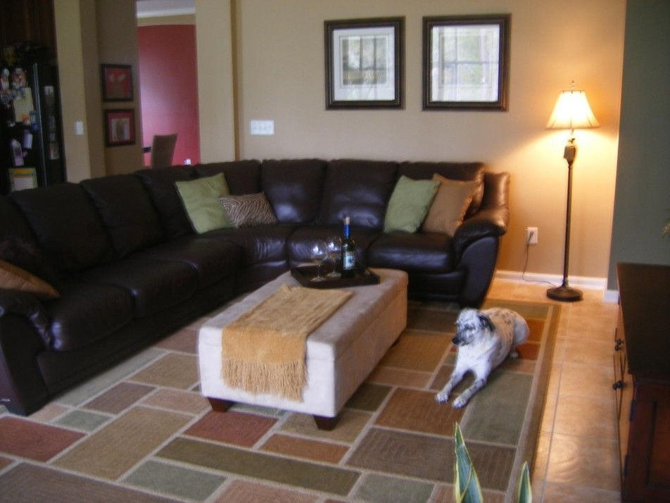 living room ideas with leather furniture%0A  Featured    Elegant Living Room Decor Ideas Along With Dark Leather Couch  Also Cushion