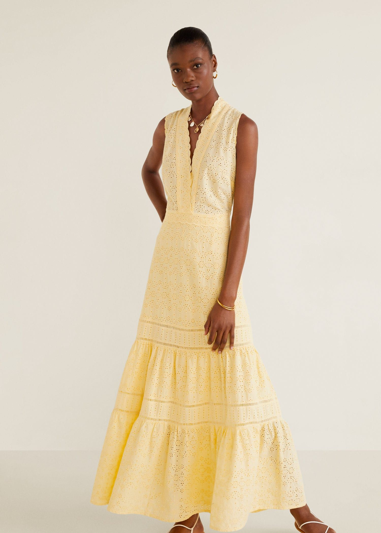 Embroidered dress Women | Spring outfits women, Dresses