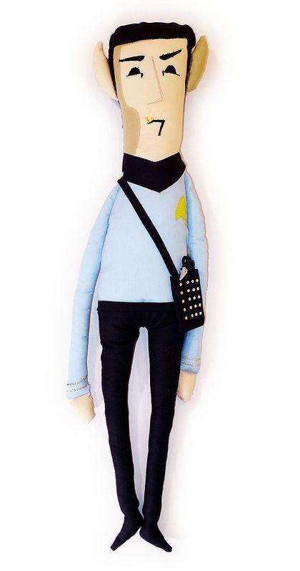 Super Punch: Plush Spock :)   ♥ ideas ♥   Pinterest