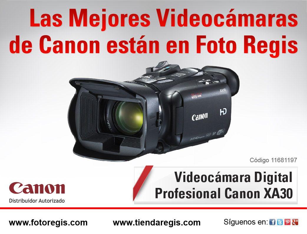 Conoce la nueva línea de Videocámaras Canon. ¡Ya disponibles en Foto Regis! Visitanos en www.fotoregis.com/sucursales
