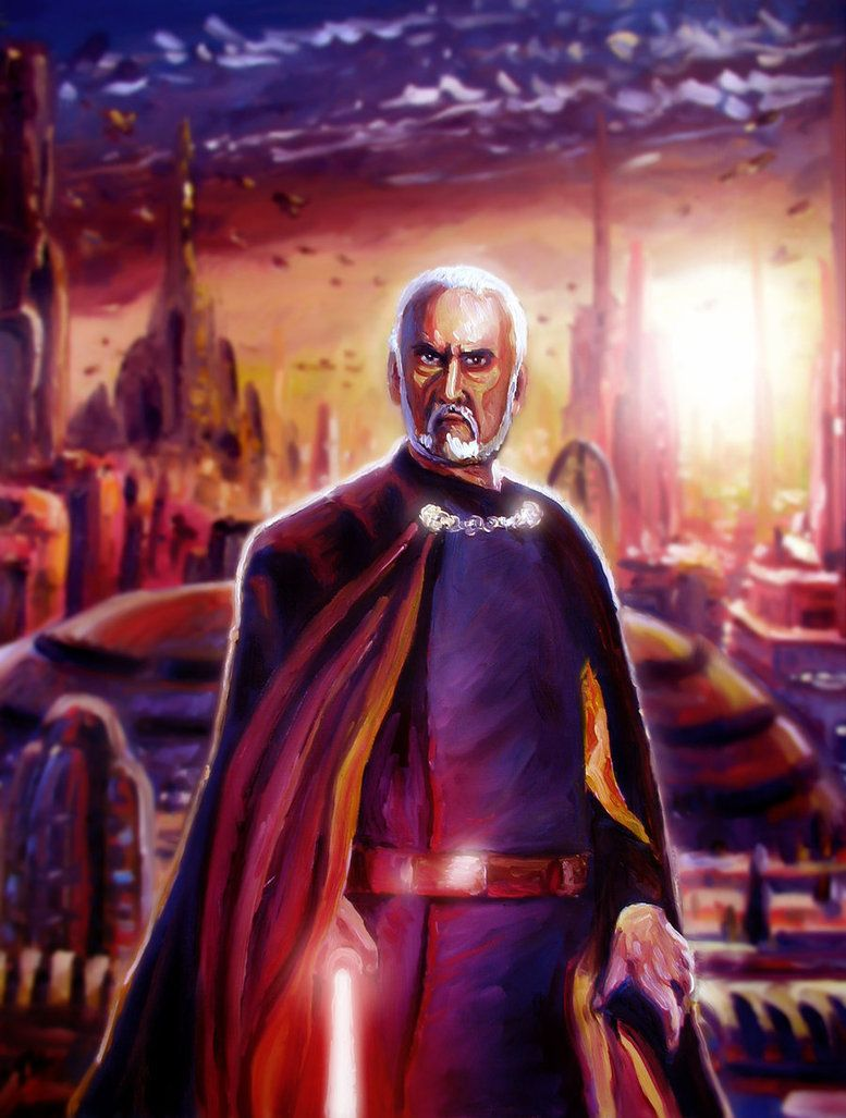 Count Dooku aka Darth Tyranus by Art De Whill   Star Wars ...
